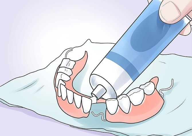 самый лучший крем для зубных протезов