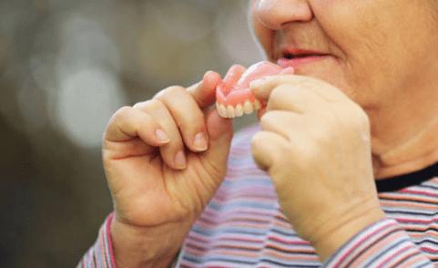 фото зубного протеза