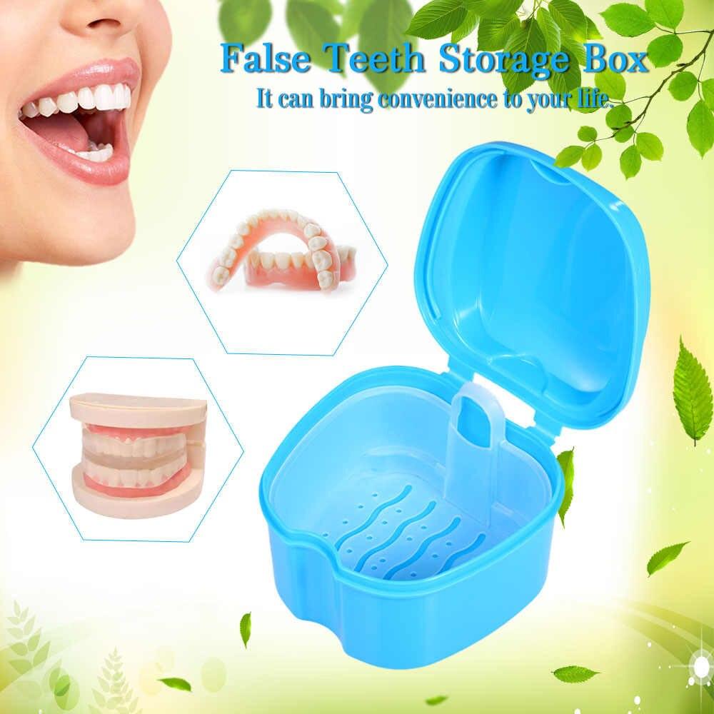 коробочка для зубных протезов